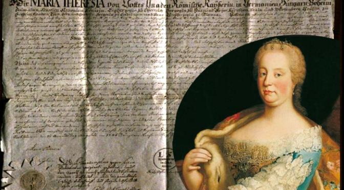 300-letnica rojstva Marije Terezije in novomeška gimnazija