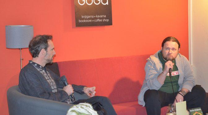 Marko Vidojković je svojo knjigo RES VAM HVALA predstavil tudi v Novem mestu