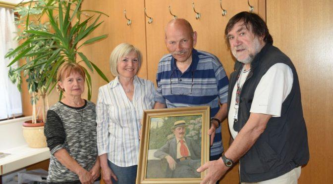 V Novem mestu je odprta razstava ob 150-letnici rojstva slikarja Josipa Germa