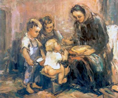 MED VIHARJEM IN JASNINO SLIKARJA LOJZETA PERKA (1909–1980)