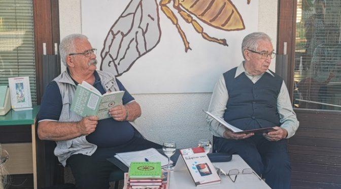 Lojze Podobnik predstavil svoj literarni opus v Krajevni knjižnici Šentrupert
